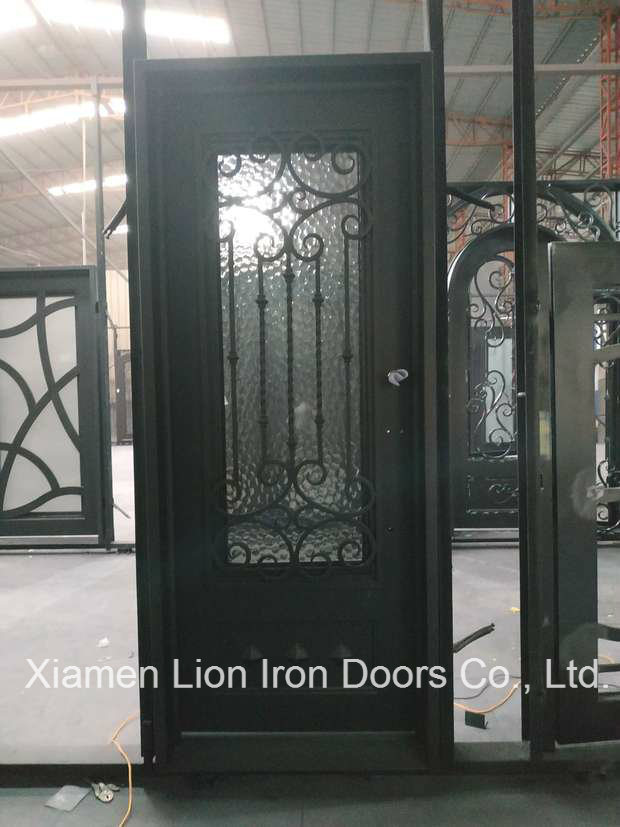China Finished Surface Exterior Position Wrought Iron Security