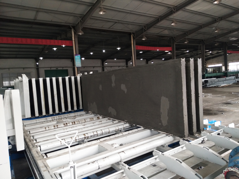 China Light Weight Eps Sandwich Wall Panel Forming Mold Car Concrete Moulding