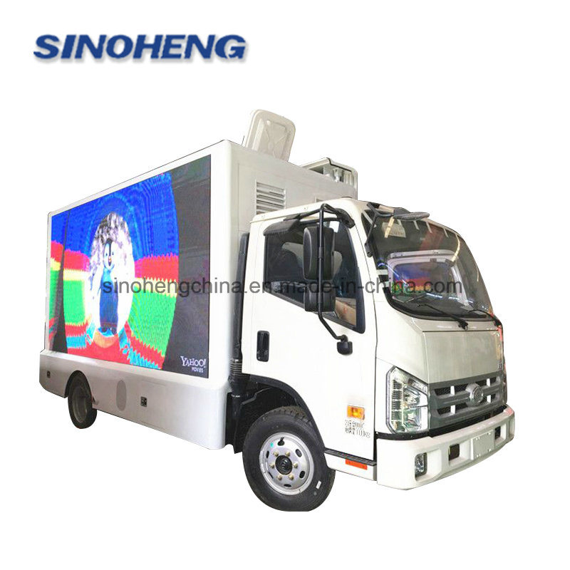 [Hot Item] Foton Forland Mobile LED Screen Advertising Truck for Sale