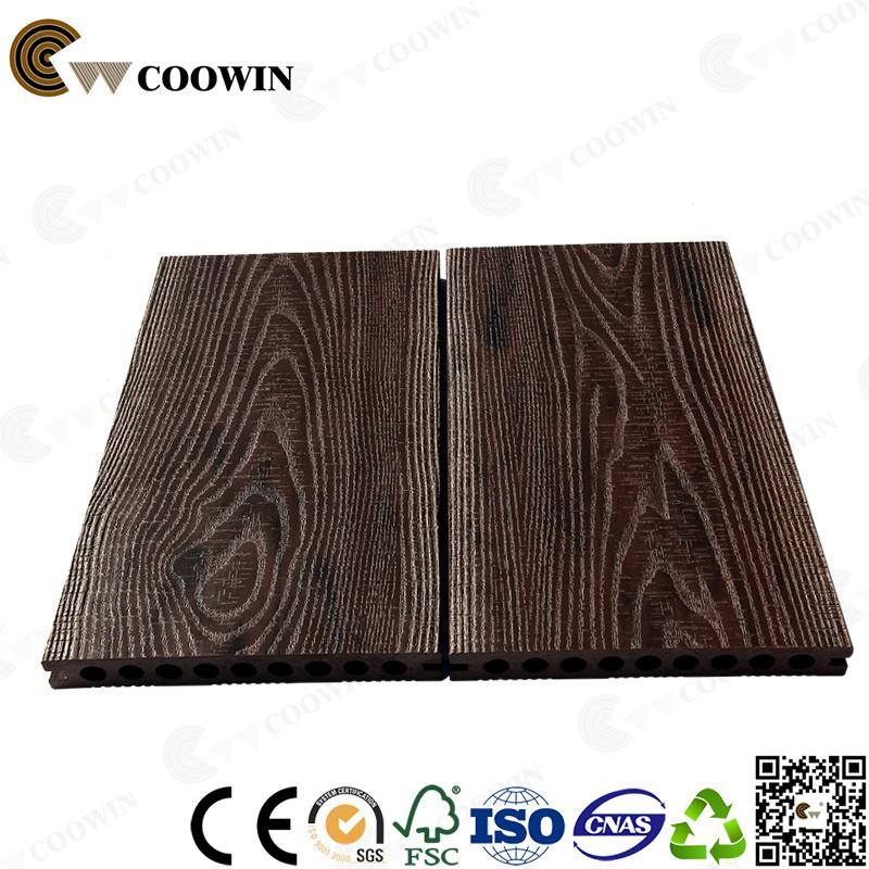 Resistant Wood Composite Floor Pvc Outdoor Decking