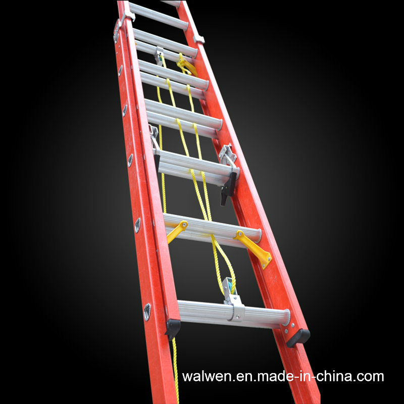 En131 High Quality Multifunctional Insulated Fiberglass Extension Ladder