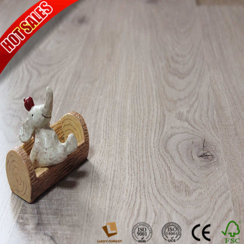 China Small Embossed Used Laminate Flooring 8mm 10mm Hardwood Building Material