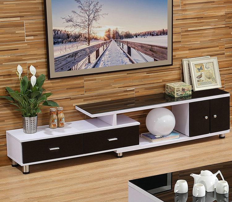quality design 913ba d2449 [Hot Item] Black White Color MDF TV Stand for Home Furniture (308#)