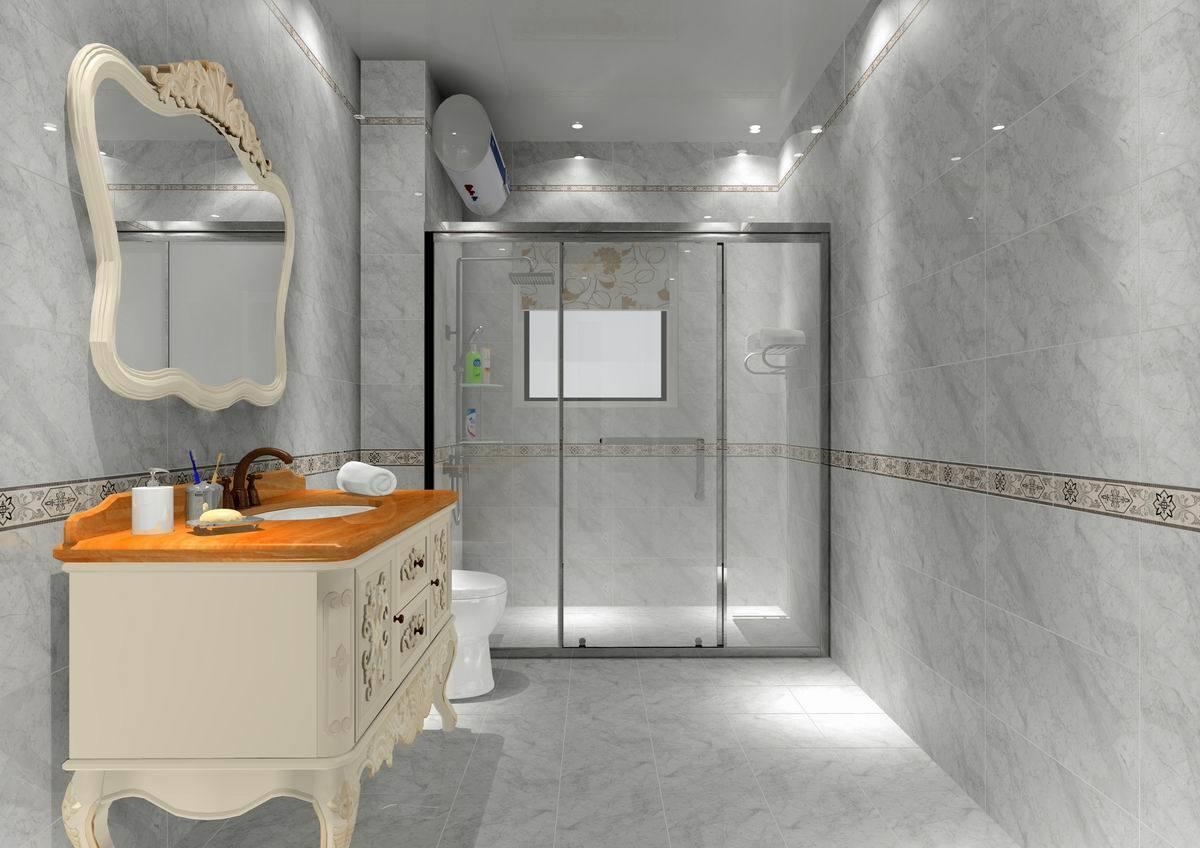 China 3d Inkjet Bathroom Glazed Ceramic, Bathroom Tile Glaze
