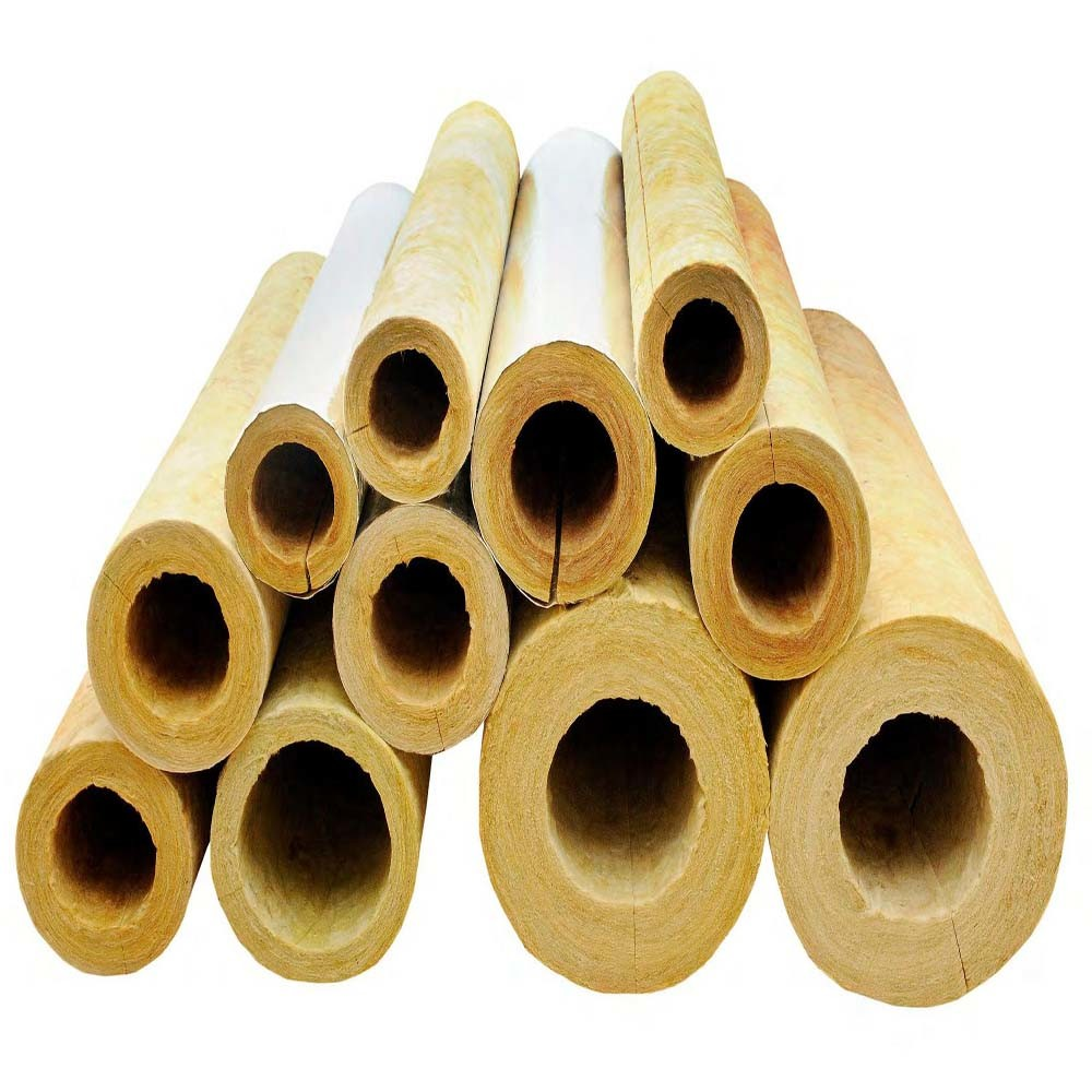 China Low Rockwool Pipe Insulation Prices Rock Wool Pipe - China ...