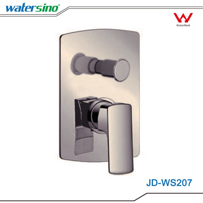 China Jd-Ws207 Brass Shower Mixer with Water Diverter Shower Set ...
