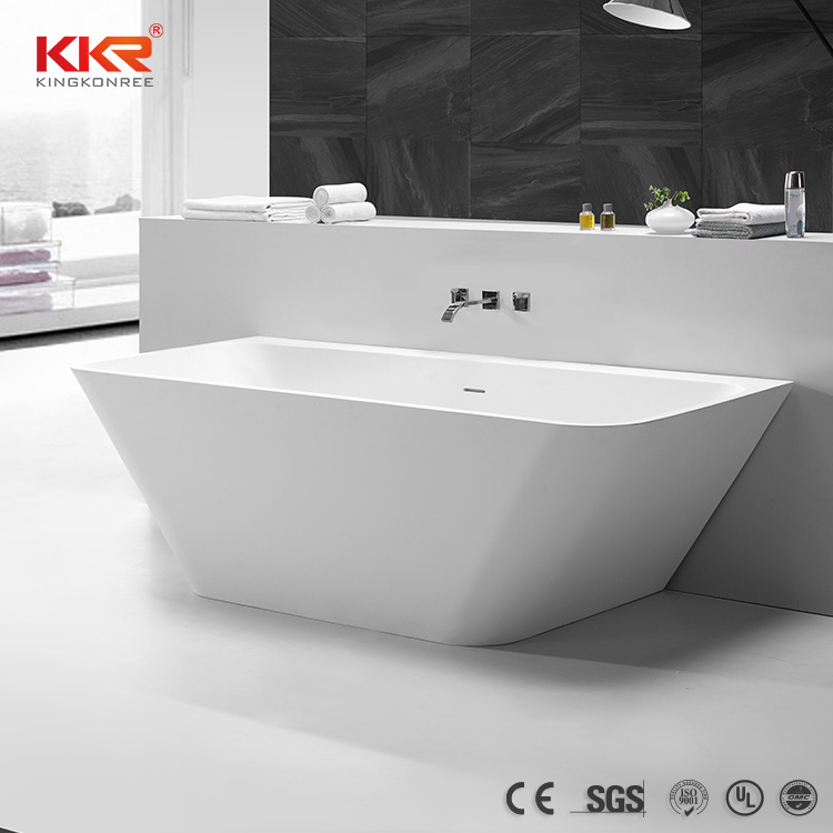 China Kkr Freestanding Small Oval Uae Bathtub Bathroom Hot Tub China Stone Tub Dubai Tub