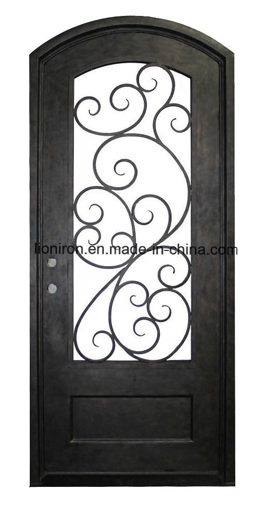 Steel Security Iron Door With Kickplate