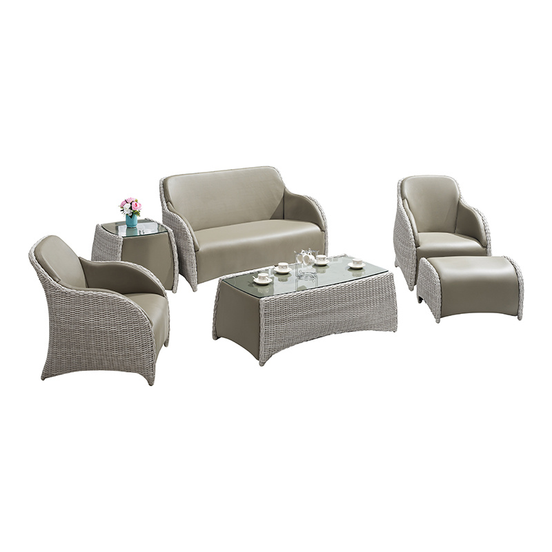 Garden Leisure Home Rattan Sofa Set