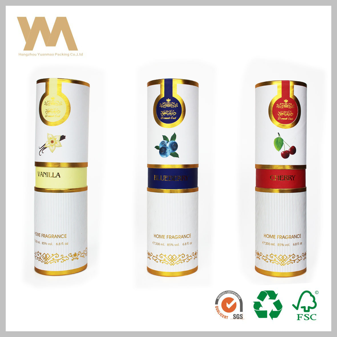 Luxury Paper Tube for Chocolate or Tea