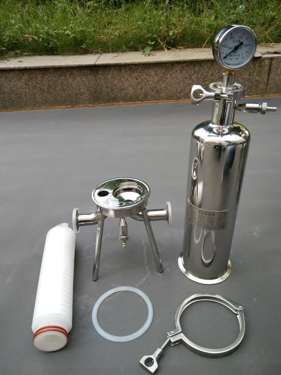 2016 Stainless Steel Cartridge Filter Housing for Hot Sale pictures & photos