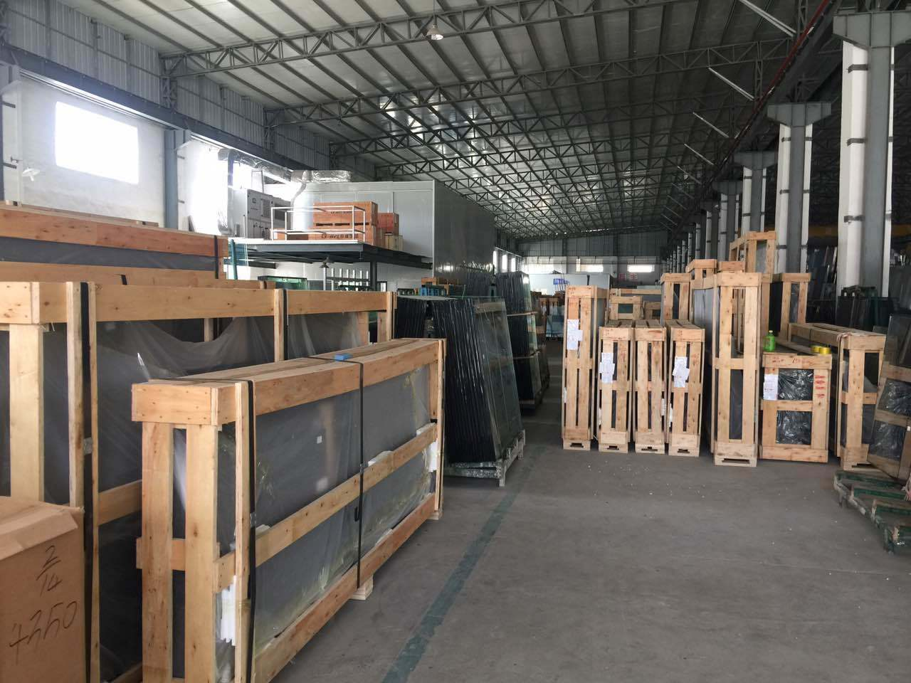 China Tempered Window/Building/Curtain Wall Construction