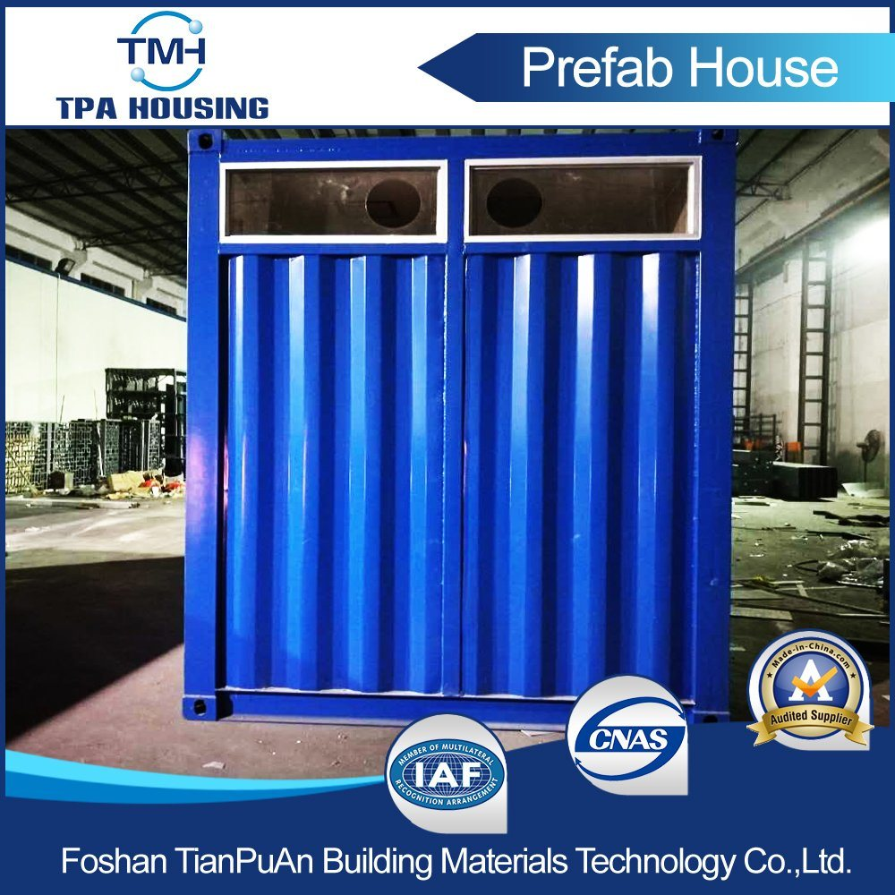 Prefabricated Modern Design Steel 20FT Container Home in Hong Kong pictures & photos