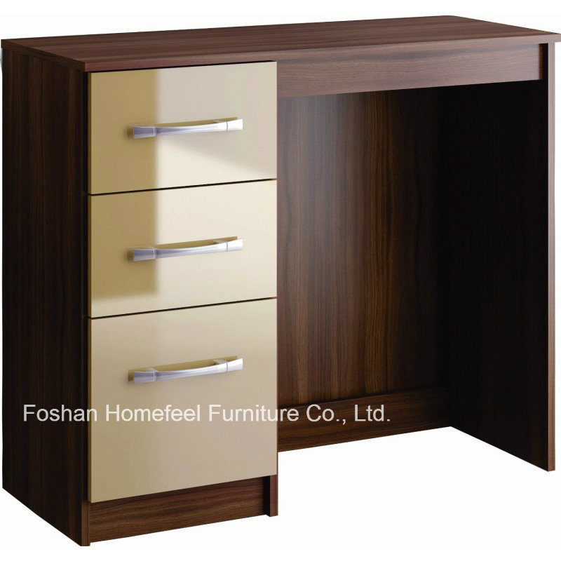 Wooden Study Desk With 3 Drawers Hhsd08bt