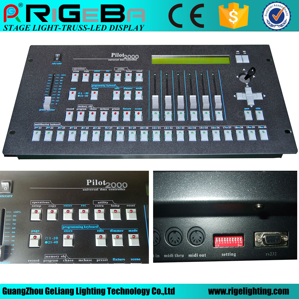 Pilot 2000 Stage Light 192 Channels DMX Controller