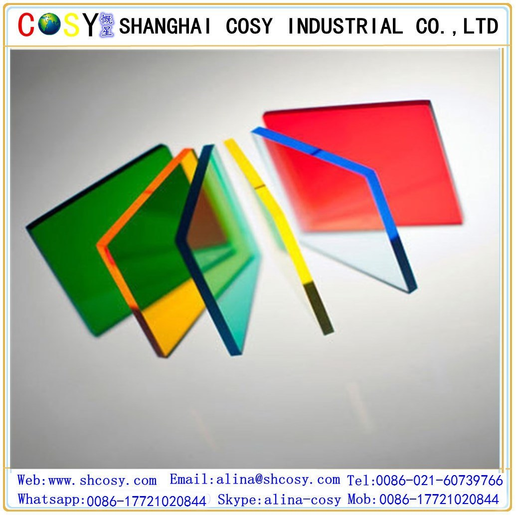 China Transparent Color Cast PMMA Sheet /Acrylic Sheet for ...