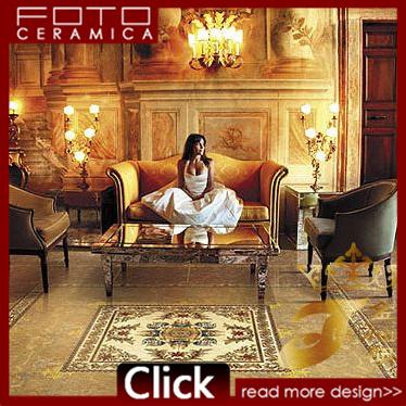 [Hot Item] Middle East Living Room Crystal Polished Porcelain Floor Tile  (PJ1213)