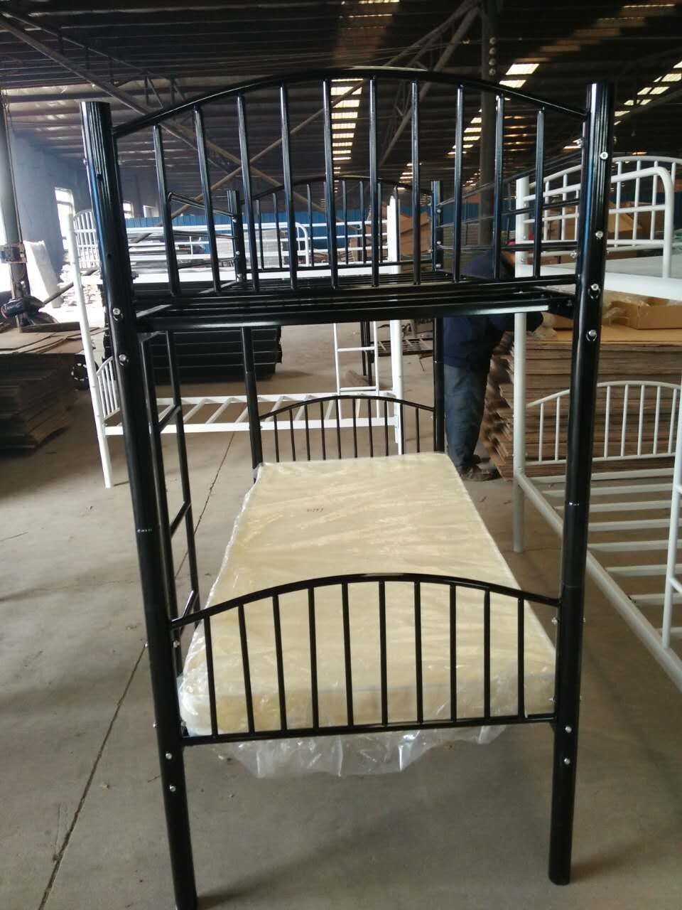 China Bedroom Furniture Heavy Duty Steel Bunk Bed China Metal Bed Worker Bed