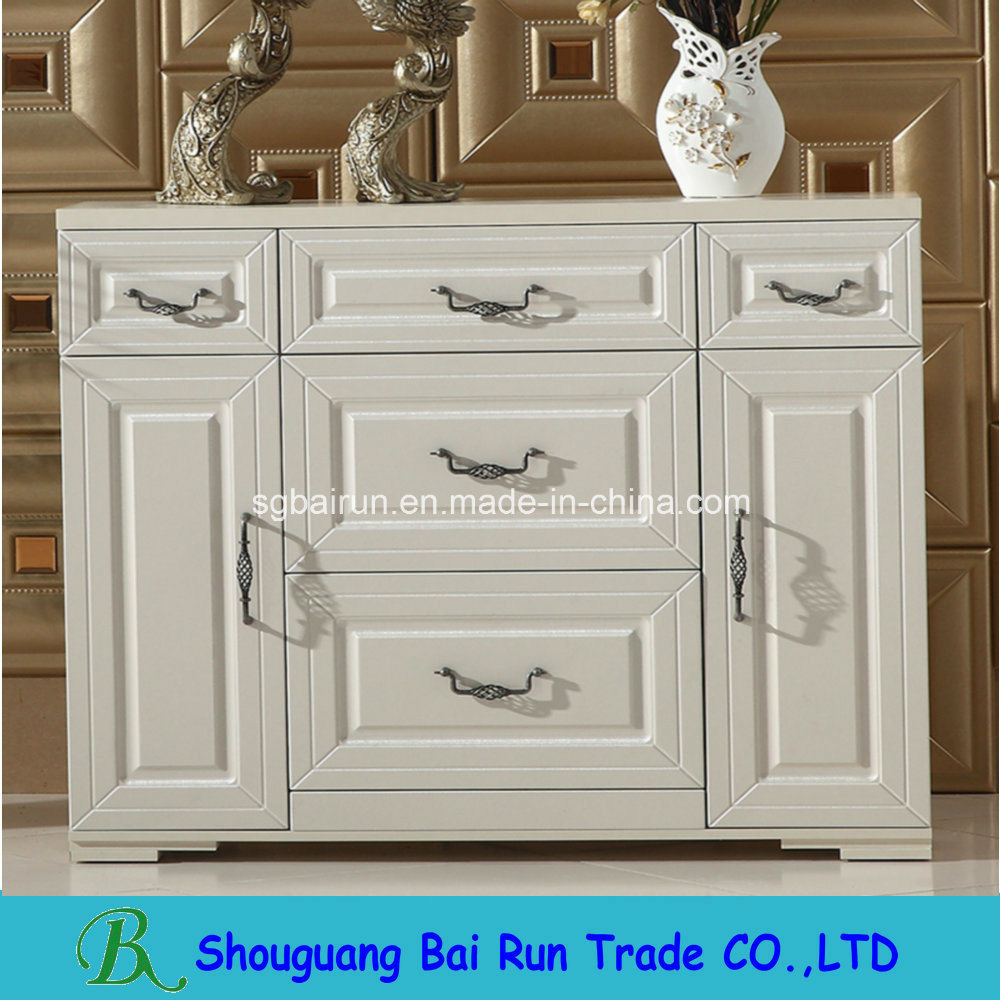 Melamine Particle Board Living Room Cabinet
