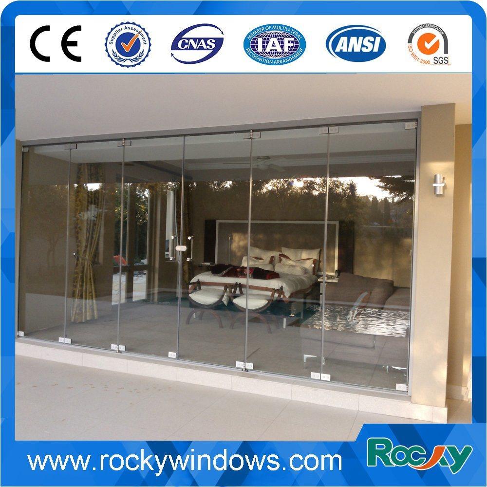 China 304 Interior Frameless Swing Glass Door China Door Glass Door