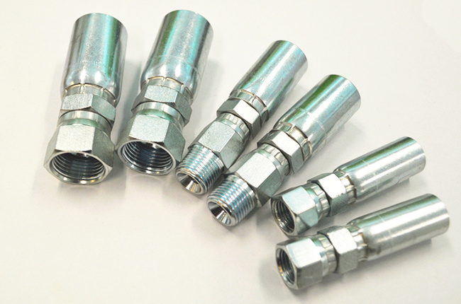 White Carbon Steel Material Hydraulic Hose Ends Fittings pictures & photos