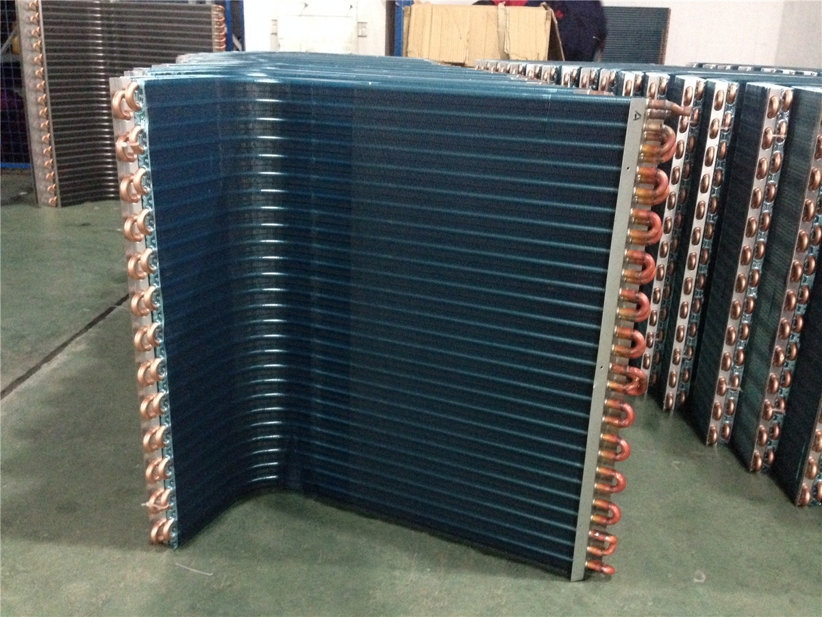 China Air Conditioner Condenser Heat Exchanger Coils