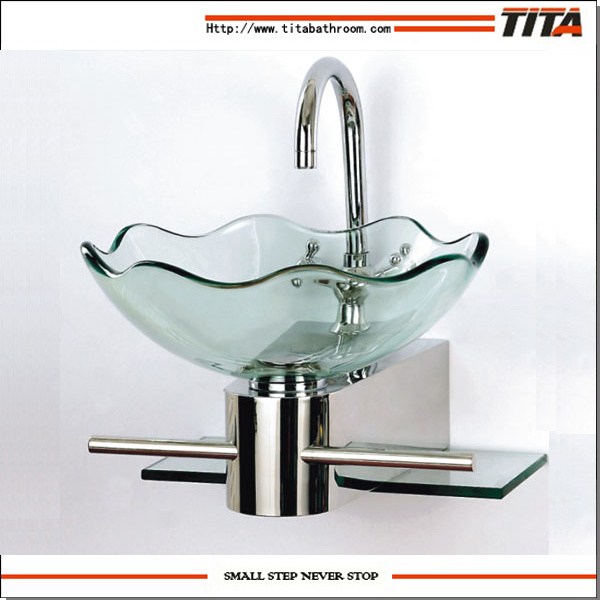 China Glass Bathroom Glass Basin/Bathroom Sink Porcelain Sinks/Clear  Tempered Glass Basins For Bathrooms (TB052)   China Bathroom Glass Basin, Bathroom  Sink ...