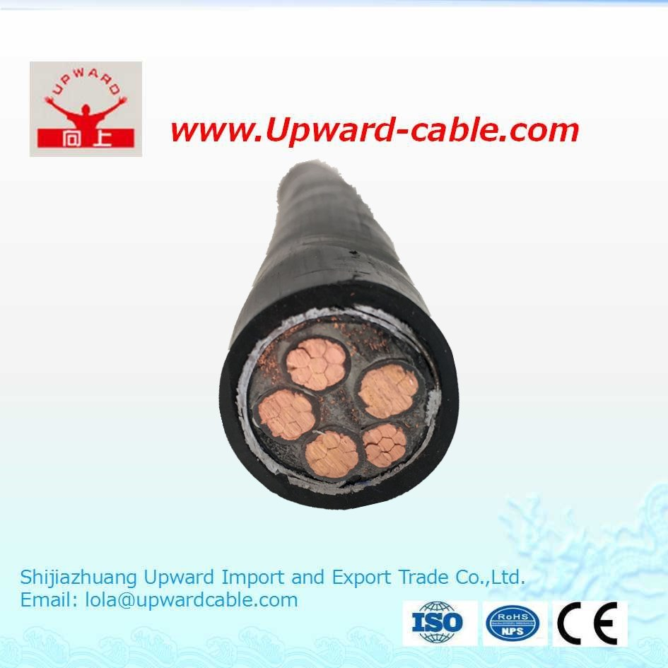 China PVC Insulated 0.6/1kv Armored Power Cable with Steel Wire ...