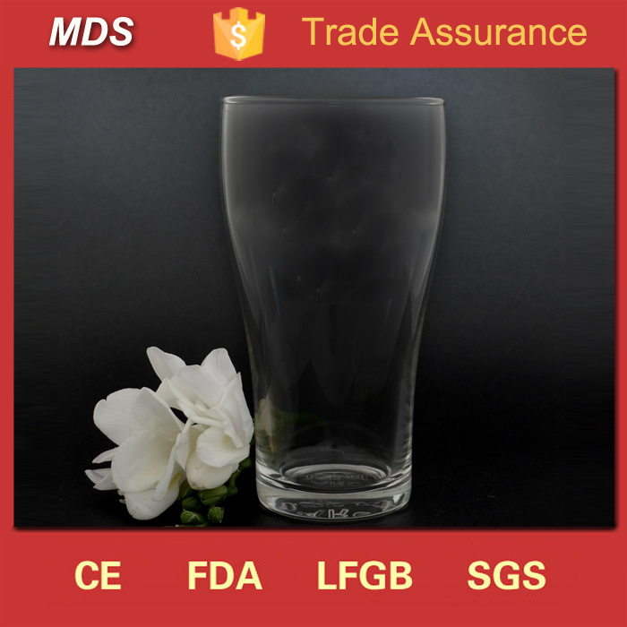 Glassware Manufacturers 425ml Conical Pint Beer Glass Tumbler