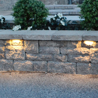 Stainless Steel Low Voltage Garden Light 12v Led Stone Retaining Wall