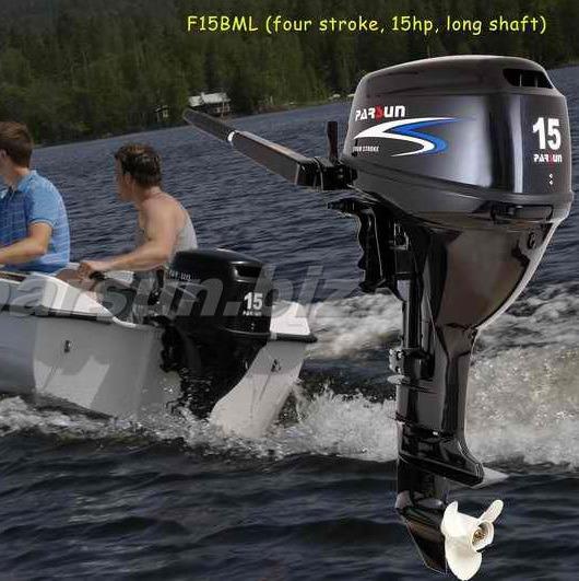 [Hot Item] Parsun 15HP 4-Stroke Outboard Motor / Electric Start & Short  Shaft / F15bws