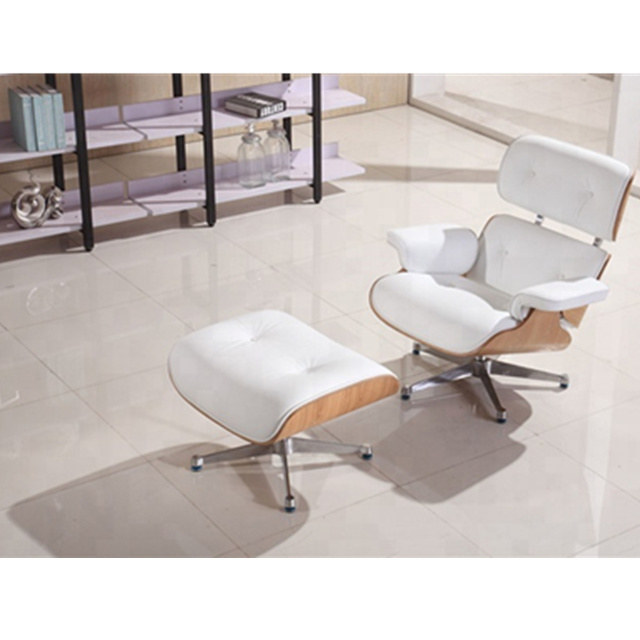 Amazing Hot Item New Model White Leather Upholstered Lounge Chair Recliner Leather Sofa With Foot Stool Spiritservingveterans Wood Chair Design Ideas Spiritservingveteransorg