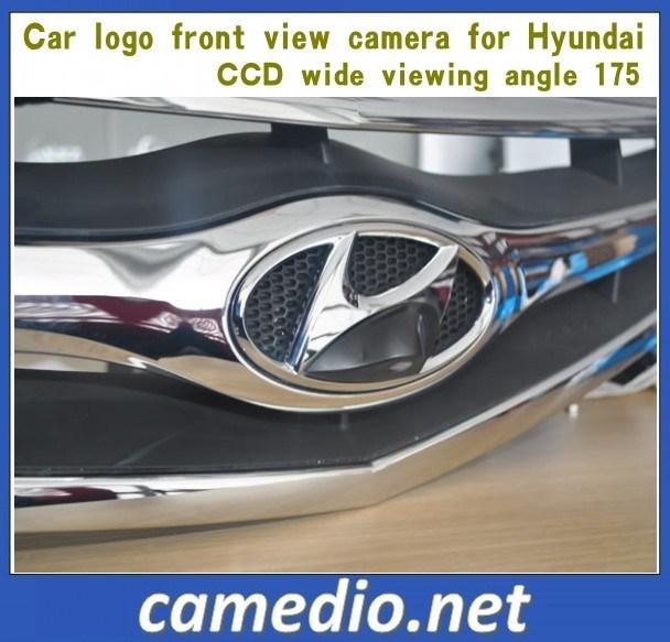 China Car Logo Camera For Hyundai Front View Easy Installation Ccd