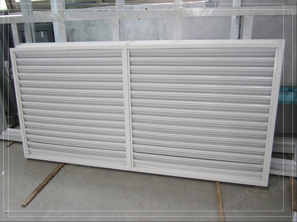 China Hot New Air Conditioner Louver Fixed Design Xd Wd