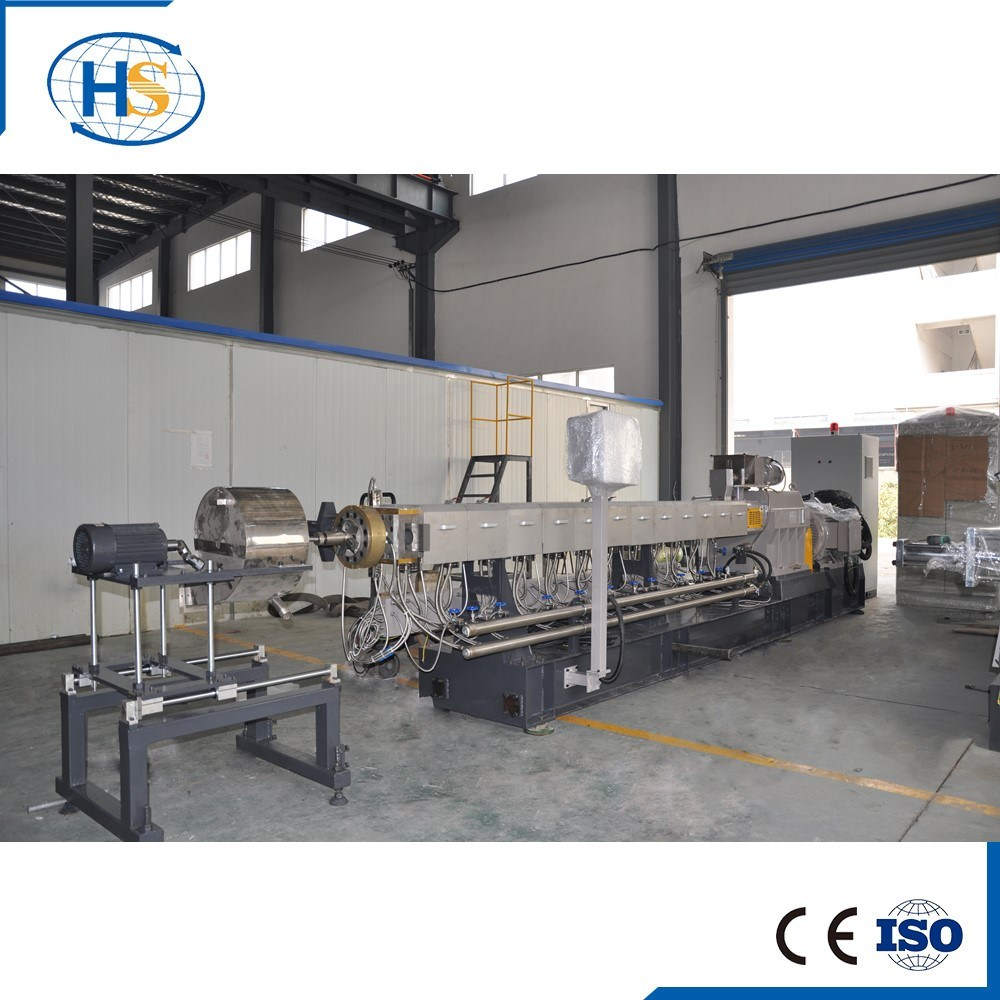 PP PE HDPE Granulating Plastic Twin Screw Extruder pictures & photos