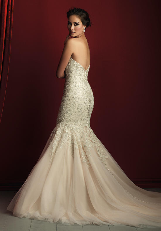 China Fabulous Bodice Sweetheart Mermaid Wedding Dress (Dream-100034) - China Bridal Dresses, Wedding Dress