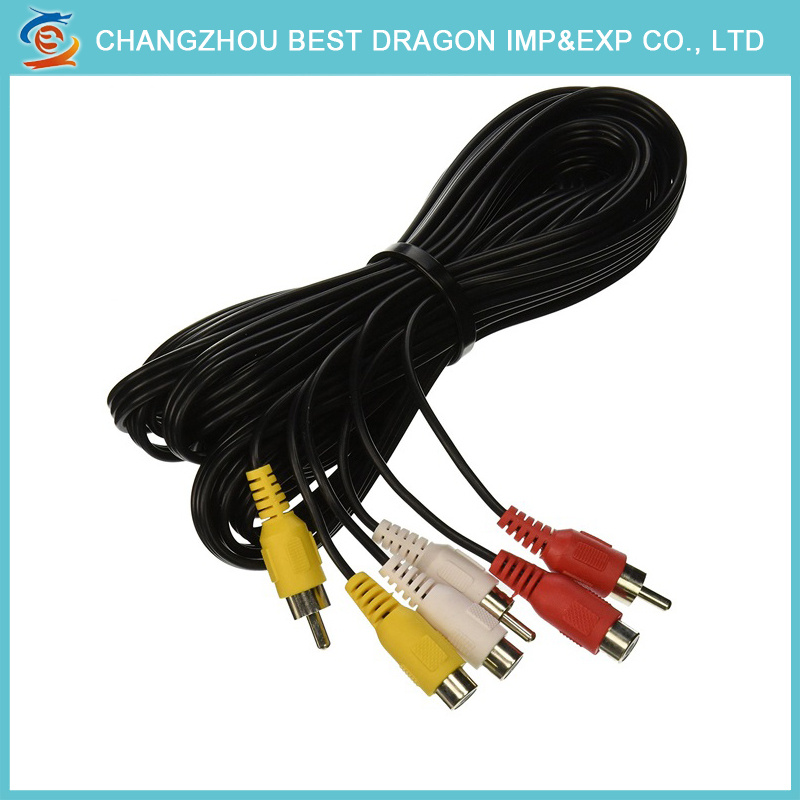 China 3.5mm Stereo Plug to Dual Male RCA Y Splitter Audio AV Cable ...