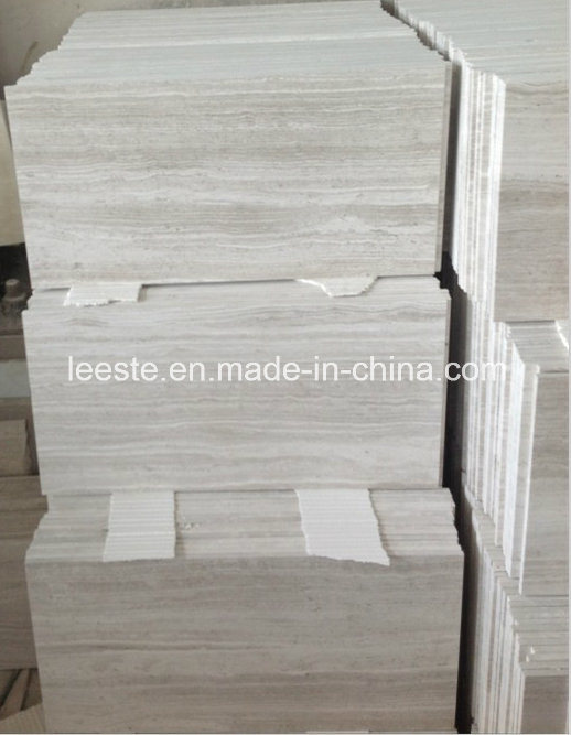 White Oak/Serpegiante/White Wood Marble Stone Tile for Decoration pictures & photos