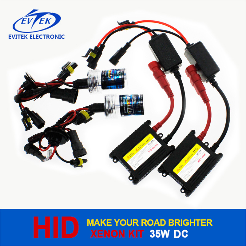 The Most Economic 35W DC HID Xenon Kit for Auto Headlight From Evitek