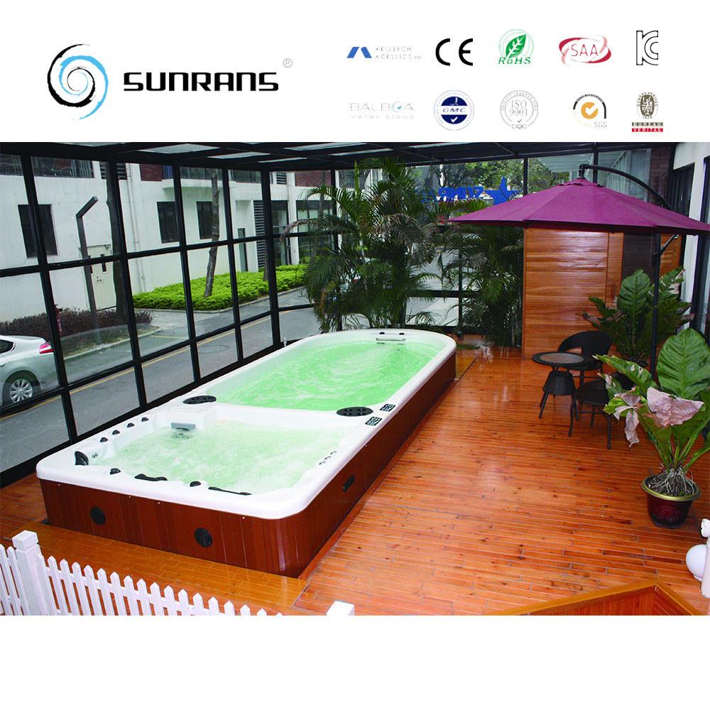 China Outdoor Acrylic Pool Indoor Swim SPA Endless Pool Photos ...