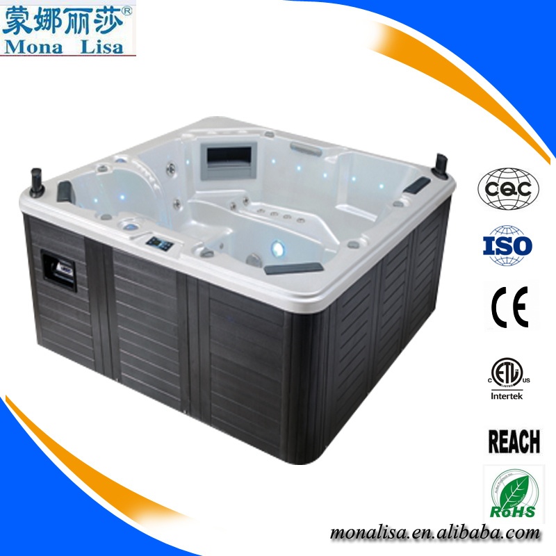 China Wholesale 6 Persons Whirlpool SPA with massage Bathtub / Hot ...