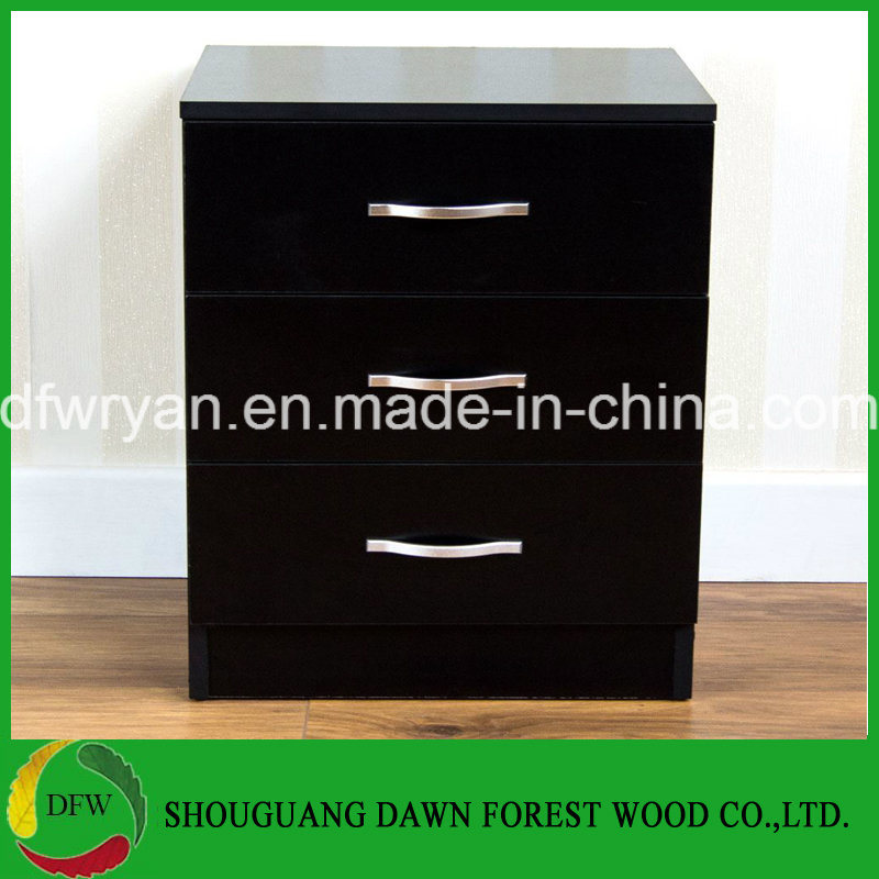 Bedside Cabinet Chest Of Drawers Black, Bedroom Furniture Runners