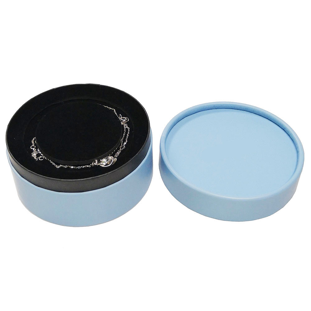 China Round Shaped Ng Paper Gift Box For Ring Jewelry Gw41