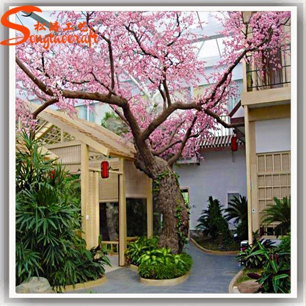China Home Decor Large Fake Artificial Cherry Blossom Tree China Artificial Tree And Artificial Cherry Blossom Tree Price