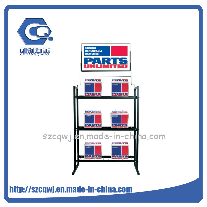 China 40Layer Retail Shop Flooring Custom Small Electronics Car Beauteous Car Battery Display Stands