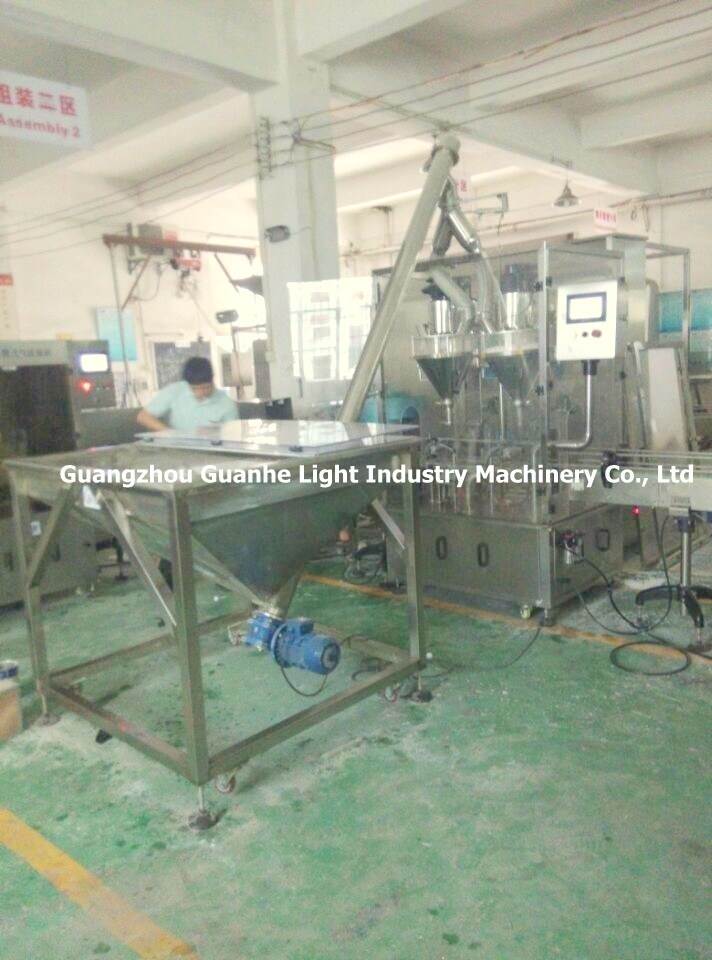 Automatic Milk Powder Filling Machine with Packaging Line