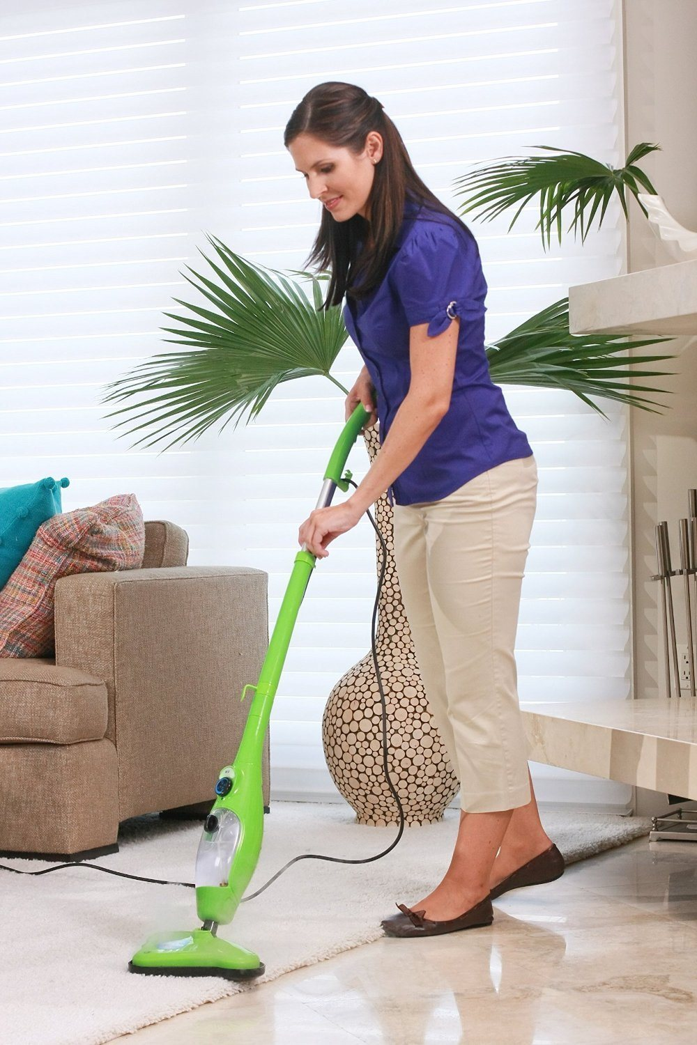 Steam Mop Floor & Handheld Steamer Floor Mop 5 in 1 Steam Cleaner