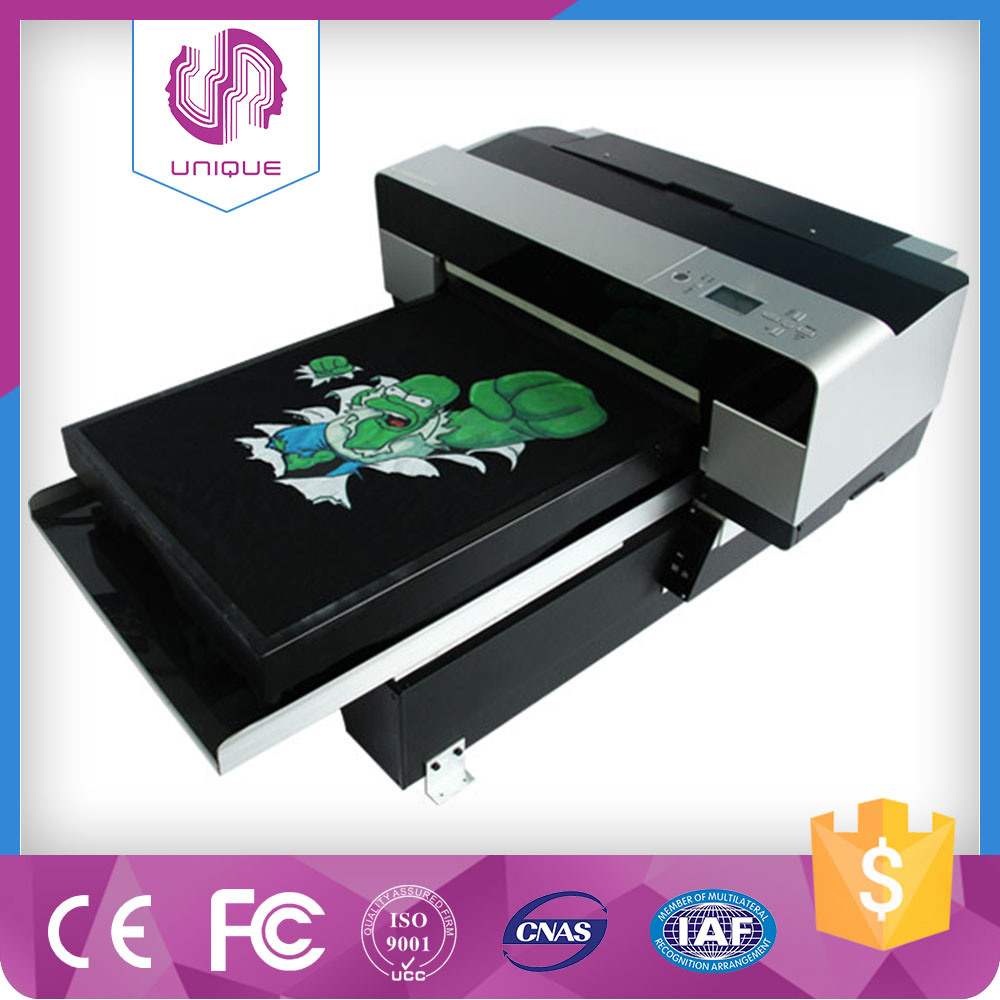 See Larger Image Easy to Operate Digital T-Shirt Printer, A3 Size Digital Shirts Printer