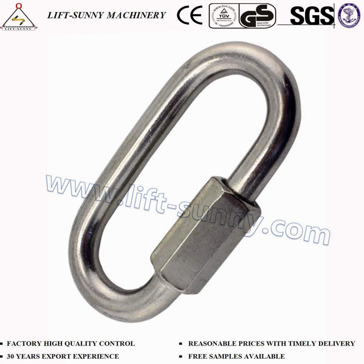 Extra Stainless Steel Quick-Link