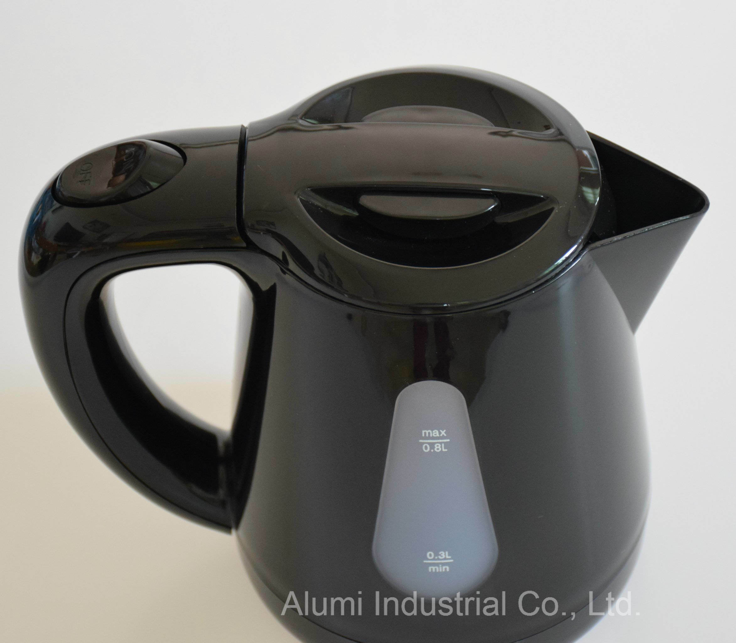 Hotel 0 8l Plastic Cordless Electric Kettle Creamy White Colour